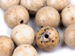 Minerálové korálky Jaspis pískový Ø8 mm