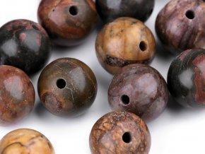 Minerálové korálky Jaspis mocca Ø8 mm