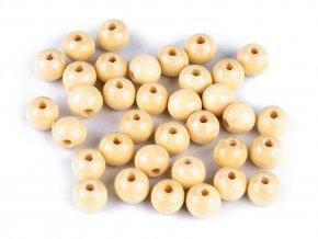 Dřevěné korálky Ø10 mm