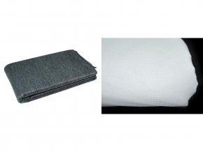 Netkaná textilie šíře 90cm nažehlovací prošitá KARINA