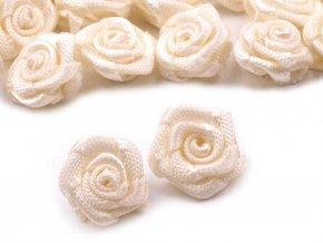 Saténová růže Ø15 mm