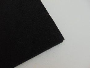 Filc 1mm 20x30cm černý