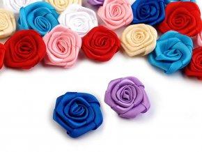Saténová růže Ø30 mm