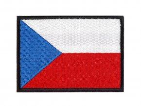 Nažehlovačka - česká vlajka