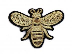 Nažehlovačka srdce, včela