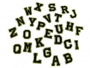 Nažehlovačka písmena