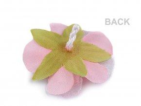 Textilní květ s pestíky Ø55 mm