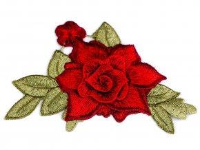 Nažehlovačka květ 3D