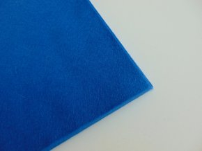 Filc 1mm 20x30cm modrý