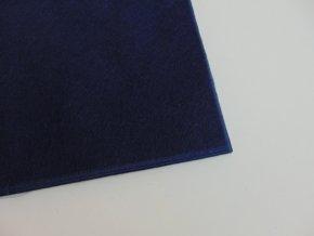 Filc 1mm 20x30cm tmavě modrý