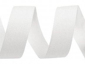 Bavlněná stuha / plátnovka šíře 20 mm jednobarevná