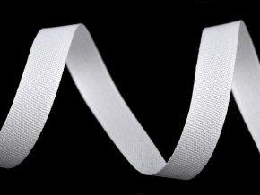 Oděvní stuha / vázačka / šňůra plochá šíře 10 mm