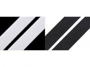 Pruženka hladká šíře 15 mm tkaná