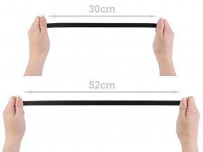 Pruženka saténová / ramínková šíře 12 mm