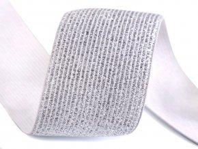 Pruženka s lurexem šíře 40 mm