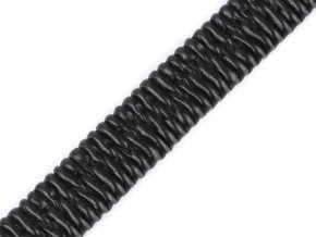 Koženková pruženka plochá šíře 10 mm
