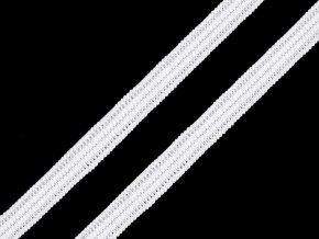 Pletená plochá pruženka šíře 7 mm