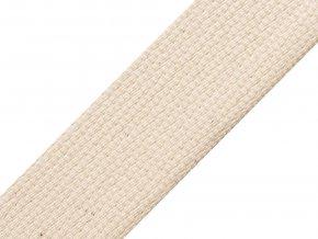 Bavlněný popruh šíře 40 mm