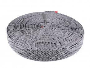 Splétaný popruh šíře 50 mm