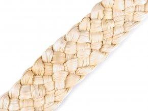 Splétané kukuřičné šustí / popruh šíře 30-35 mm