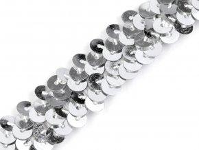 Flitrový prýmek šíře 20 mm elastický