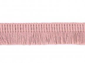 Bavlněné třásně oděvní šíře 17 mm