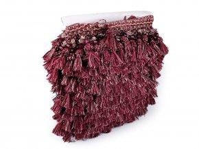 Prýmek / třásně s korálky šíře 11,5 cm