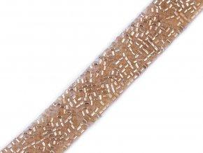 Prýmek se sekaným rokajlem šíře 15 mm nažehlovací