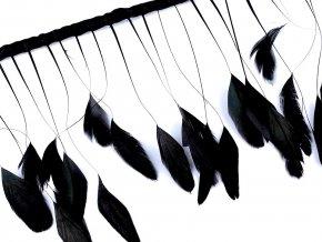 Prýmek kohoutí peří šíře 20 cm