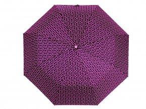 Dámský skládací vystřelovací deštník srdce