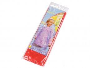 Dětská pláštěnka poncho jednorázová