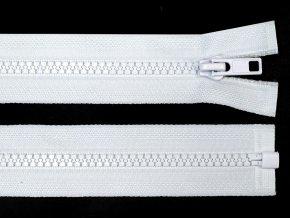 Kostěný zip šíře 5 mm délka 55 cm bundový