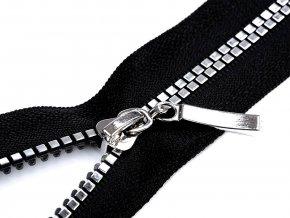 Kostěný zip šíře 5 mm délka 70 cm kostičky