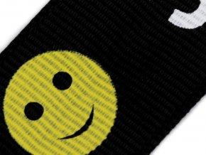 Lampas / rypsová stuha Smile šíře 24 mm