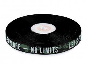 Lampas / rypsová stuha No limits šíře 19 mm