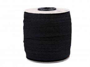 Šikmý proužek bavlněný šíře 16 mm zažehlený