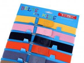 Dětský pásek se suchým zipem šíře 2,7 cm