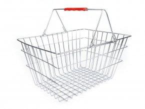 Košík nákupní kovový