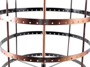 Otočný stojan na náušnice Ø20 cm výška 47 cm 2. jakost
