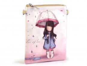 Dívčí kabelka 15x18,5 cm s potiskem