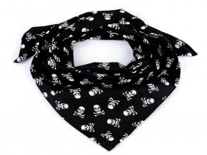 Bavlněný šátek pirát 65x65 cm
