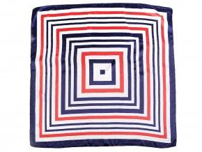 Saténový šátek 60x60 cm