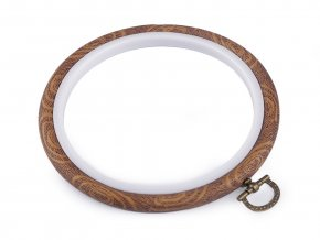 Vyšívací kruh / rámeček k zavěšení Ø12 cm
