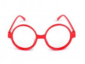 Karnevalové brýle kulaté