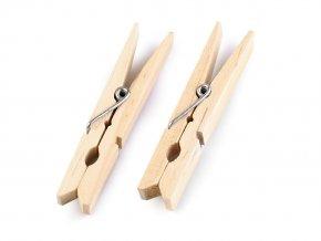 Dřevěné kolíčky na prádlo 10x74 mm
