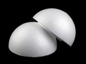 Polystyrenová koule dvoudílná dutá Ø14,5 cm