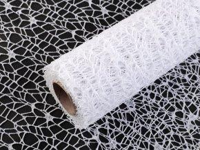 Dekorační metráž pavučina šíře 48 cm