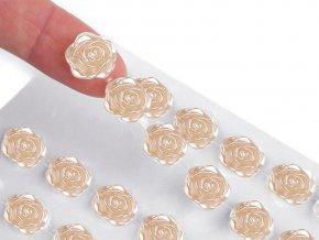 Samolepicí růže na lepicím proužku Ø11 mm