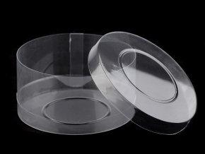Plastová krabička / dóza Ø98 mm