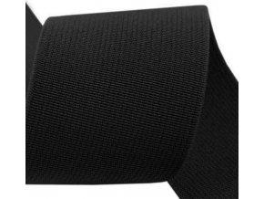 Plochá guma 50 mm černá